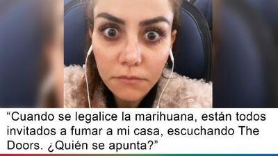 Diputada mexicana invita a fumar marihuana en su casa para festejar la legalización