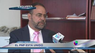 Aníbal Vega Borges asegura que hay unidad en el PNP