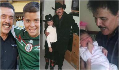 Son prolíficos en todo: conoce a qué edad fueron papás estos músicos del regional mexicano