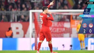 'El de siempre' le da la victoria al Bayern sobre el Olympiakos