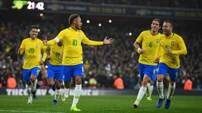 Brasil anuncia juegos de preparación previo a la Copa América