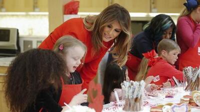 En un minuto: Melania Trump lanza hoy su iniciativa personal como primera dama