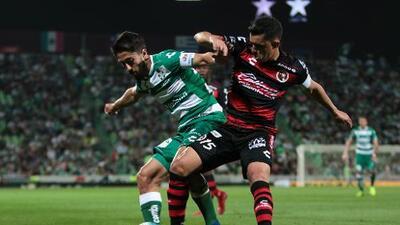 Cómo ver Santos Laguna vs. Club Tijuana en vivo, por la Liga MX 18 de Octubre 2019