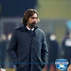 Andrea Pirlo reconoce enojo con Álvaro Morata tras falla ante Atalanta