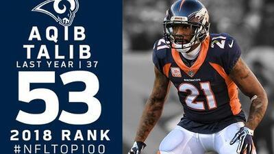 #53 Aqib Talib (CB, Rams) | Top 100 Jugadores NFL 2018