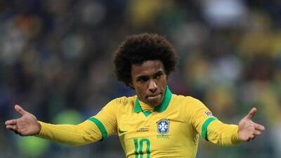 Brasil ha recuperado a sus hombres para la Final de la Copa América... excepto a Wllian