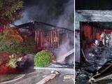 Abuelo sobrevive junto a sus dos nietos tras incendio que destruyó su vivienda en Gwinnett