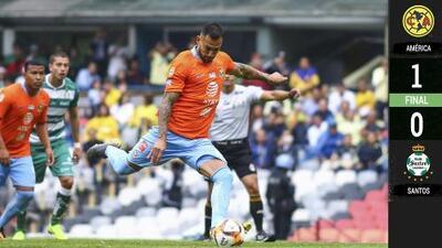 América 1-0 Santos Laguna - RESUMEN Y GOL - Jornada 16 - Clausura 2019 - Liga MX