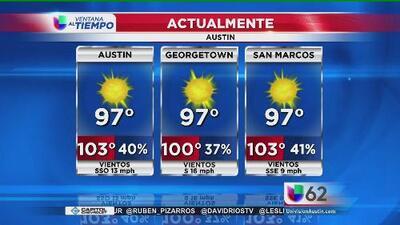 Calor, calor y más calor en Austin