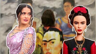 A 'Frida Kahlo' no le gustó la Barbie de Frida Kahlo
