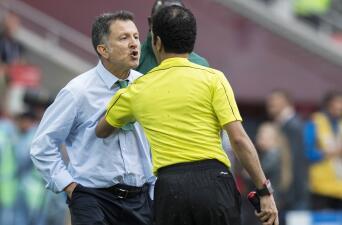 La furia de Juan Carlos Osorio por las decisiones arbitrales contra Portugal