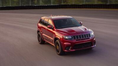 Seis camionetas Jeep Grand Cherokee Trackhawk fueron robadas de la fábrica en Detroit