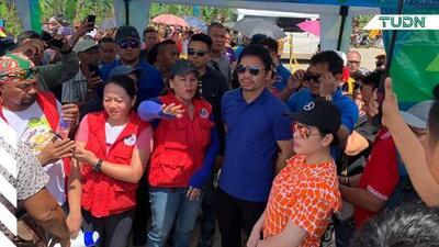 Manny Pacquiao se solidariza con afectados por terremoto en Filipinas
