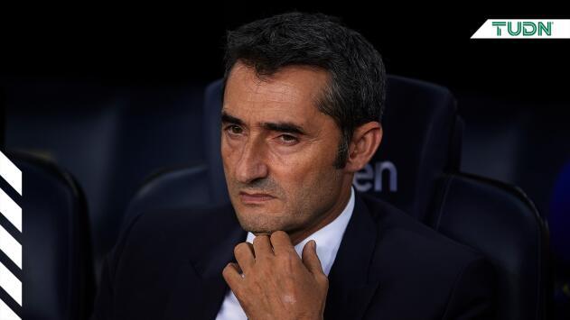 ¿Desesperado? En la cancha, Valverde sufre con su Barcelona