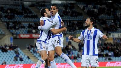 Athletic Club 0-1 Real Sociedad: Jonathas, a pase de Carlos Vela, define el derby vasco