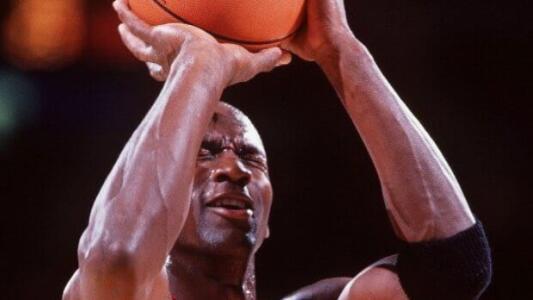 El día que Jordan anotó una canasta a ciegas