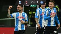 Napoli, sin el Chucky, superó al Milan y se metió a puestos europeos