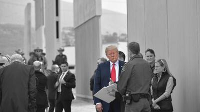 El muro de Trump, de promesa electoral a herramienta política