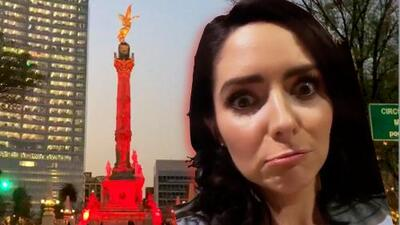 """""""Si no es temblor, es incendio"""": Así fue el día de trabajo de Ariadne Díaz"""