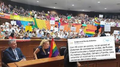 Sinaloa rechaza el matrimonio gay y no se podrá volver a tocar el tema en la actual legislatura
