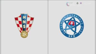 Croacia 3-1 Eslovaquia – Resumen y goles – Grupo E - Clasificación a la Eurocopa