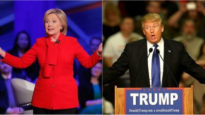 Hillary Clinton y Donald Trump ganan primarias en Florida
