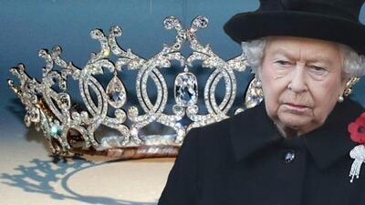 Roban tiara que pertenece a la familia real británica
