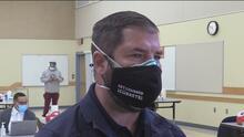 Inicia vacunación contra el coronavirus en el colegio comunitario de Reedley