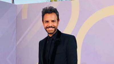Eugenio Derbez asiste a premios pero el público se queda con ganas de escucharlo