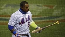 Yoenis Céspedes no se presenta al juego de Mets vs. Braves