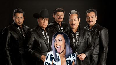 Could we soon hear a collaboration between Tigres del Norte and Cardi B?