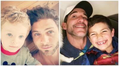 Horacio Pancheri y Jorge Aravena son los papás más cariñosos dentro y fuera de las novelas