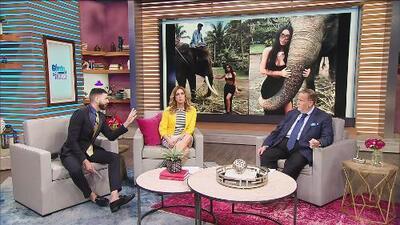 """Jomari Goyso descubre qué hay de """"falso"""" en las fotografías de Kim Kardashian con los elefantes en Bali"""