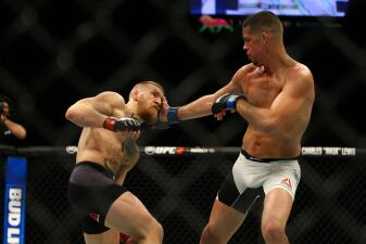 Nate Díaz sorprendió con victoria sobre Conor McGregor en la UFC 196