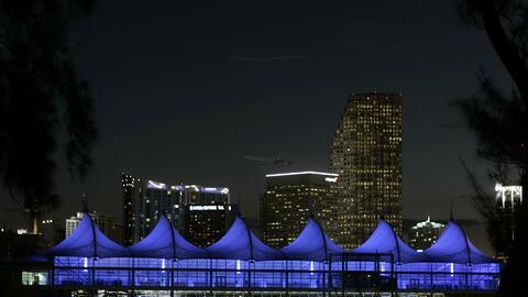 Miami tendrá una noche despejada, con viento calmado y temperaturas cálidas