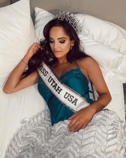 Hace apenas cinco días, Rachel Slawson se fue a dormir por primera vez con la banda que la acredita como la nueva Miss Utah USA 2020. De hecho, como la primera mujer bisexual que competirá en el Miss USA en los casi 70 años de historia del certamen.