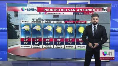 San Antonio registra altas temperaturas este lunes