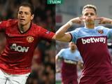 Chicharito es de los delanteros más eficaces en historia de la Premier League