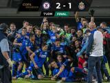¡Cruz Azul campeón de la Copa por México! Vencieron 2-1 a Chivas