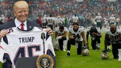 """""""¡Estás despedido!"""": Repaso a la polémica entre Donald Trump y la NFL"""