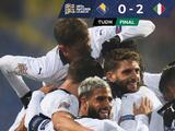 Italia vive su 'Renacimiento' y se mete al Final Four de la Nations League