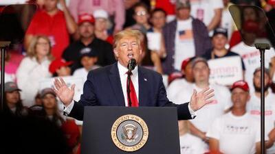 Trump busca votos latinos en Nuevo México y expertos analizan su estrategia de cara a las elecciones 2020