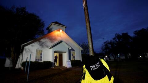 Tras masivo tiroteo, así reabrió sus puertas la iglesia bautista de Sutherland Springs