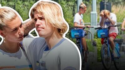 Las imágenes de Justin Bieber y su novia llorando que tienen preocupados a sus fans