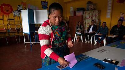 Sandra Torres aventaja los conteos iniciales de las elecciones en Guatemala, pero habría segunda vuelta