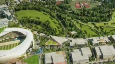 Alcalde Suárez anuncia acuerdo para avanzar con las negociaciones de un estadio de fútbol en Miami