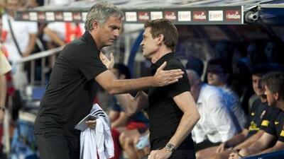 """Mourinho: """"Es un día triste para el fútbol y para Barcelona"""""""