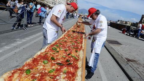 California tiene la pizza más grande del mundo
