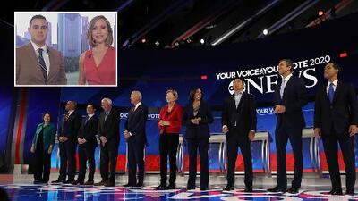 Análisis: lo que se dijeron en el debate los precandidatos demócratas y las reacciones que han provocado