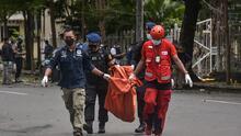 Domingo de Ramos sangriento: al menos 20 heridos tras un atentado suicida frente a una catedral católica